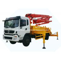 Buy cheap 26m -31m Small Mobile Concrete Mixer Pump Truck With DFAC King Run Chassis from wholesalers