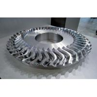 China Metal Material Impeller Parts With 5 Axis Machining Faster Cutting Speed on sale