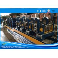 China Round Shape Precision Tube Mill Cold Saw Welding 4.0mm Thick CE Certification on sale
