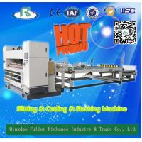 Buy cheap High Efficient Automatic Corrugated Paper N. C Slitter & Cutter & Stacking Machine from wholesalers