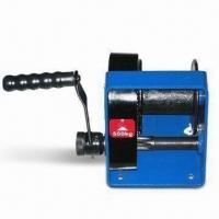 Buy cheap Dual-speed Manual Winch with Automatic Brake and High Quality Gears from wholesalers