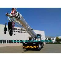 Buy cheap Heavy Duty 80 Tonne Mobile Crane Truck RT80 With CAT Engine Automatic Gear Box from wholesalers