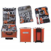 Buy cheap 147Ppcs Drill Screwdriver Multifunction Household Cordless Power Tool Set with Aluminum Case from wholesalers
