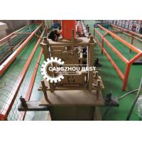 Buy cheap High Speed Shutter Door Roll Forming Machine 1.2 Mm Roller Door Rail Guide Making from wholesalers