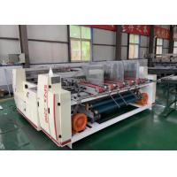 Buy cheap Semi - Automatic Two Piece Carton Gluing Machine For Corrugated Board product