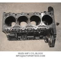 Buy cheap Casting Iron  Engine Cylinder Block ISUZU 4HF1 / 4HG1 Engine Parts from wholesalers