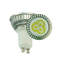 Buy cheap High Power 3W 250lm 5000 - 10000K LED GU10 Light Bulb For Display Case from wholesalers