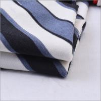 Buy cheap High Quality Korea ITY Polyester Spandex 1000 TPM Twisting Print Striped ITY Jersey Knit Fabric for Dress and Shirts from wholesalers