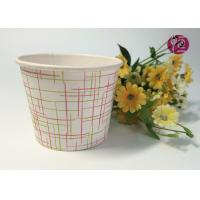 Buy cheap 4oz Top 77mm Single PE Coated Disposable Soup Cups For Noodle Soup from wholesalers