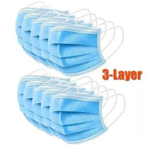 Wholesale Breathable 3 Ply Non Woven Face Mask from china suppliers