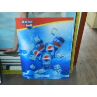 Wholesale PS lenticular material large size 3d poster large format lenticular advertising poster 3d flip printing from china suppliers