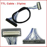 Wholesale 31pins TTL Cable for LCD Panel DF9-31 from china suppliers