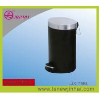 Buy cheap S/S Oval Power Spraying Pedal Office Rubbish Bin from wholesalers