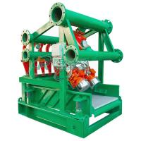 Buy cheap 4 Desilter Cones 240m3/h Mud Cleaning Equipment with Bottom Shale Shaker from wholesalers