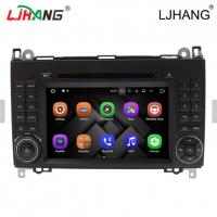 Buy cheap 1024*600 Map Solution Mercedes Benz DVD Player 240 Dpi With Media Card from wholesalers