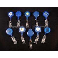 Buy cheap Different Shapes Blue Badge Reel, Retractable Reel, Badge Holder from wholesalers