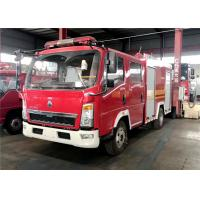 Buy cheap SINOTRUCK Water Foam Fire Fighting Truck, HOWO 4x2 Rescue Vehicles Fire Fighting Truck from wholesalers
