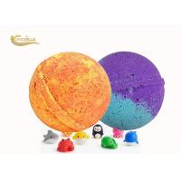 Buy cheap Vanilla Flavor Fizzy Kids Surprise Bath Bombs Inside Kids Party Favor from wholesalers