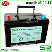 Buy cheap 12V LiFePO4 battery 100Ah battery pack for inverter and UPS from wholesalers