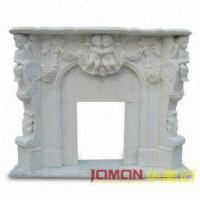 Buy cheap White Marble Fireplace (XMJ-FL08) from wholesalers