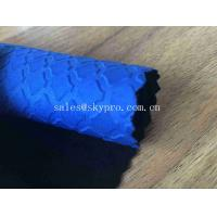 Buy cheap Heat Resistant Blue Commercial Neoprene Fabric Roll 3mm Stability SBR Neoprene Polyester Jersey Fabric from wholesalers