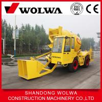 Buy cheap Rotating Drum Cement Mixer New Self Loading Mobile Concrete Mixer from wholesalers