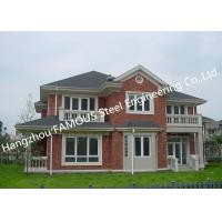 Buy cheap Prefabricated Luxury Light Weight Customized Pre-Engineered Building Steel Villa House from wholesalers