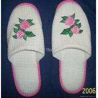 Buy cheap 100% Cotton Towelling Embroidered Slipper from wholesalers