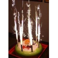 Ice Birthday Cake Fireworks Candle For Holiday New Year