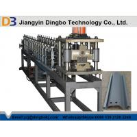 China Steel Garage Shutter Door Frame Roll Forming Machine Passed CE And ISO on sale