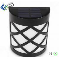 Wholesale 1.2v mini size 6 pcs LED fence light new waterproof plastic material garden solar landcape light from china suppliers