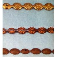 Buy cheap home decoration bubble nail,ancient chrysanthemum strip,iron,plating as per request. from wholesalers