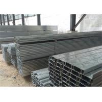 Buy cheap Building Material Galvanised Steel Purlins Z Section 150 To 300mm For Roofing from wholesalers