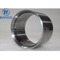 Buy cheap Plain Ring Tungsten Carbide Bushing , Water Pump Shaft Sleeve Grinding Finishing from wholesalers