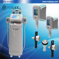 Buy cheap Cavitation+two cups+RF Fat Removal cryolipolysis Slimming Machine/fat freeze loss weight c from wholesalers