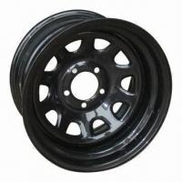 Buy cheap 15 x 6 SUV Steel Wheel Rims, Trailer Tires, Made in China from wholesalers