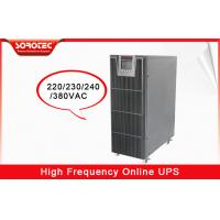 Buy cheap 220V / 230V 40HZ - 70HZ High Frequency Online UPS for Bank Station from wholesalers