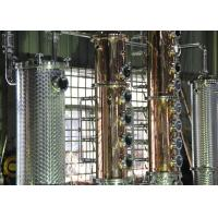 Buy cheap 500gal Distillery brandy gin vodka alcohol copper still equipment for sale from wholesalers