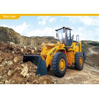 Buy cheap Professional Small Wheel Loader , Excavator Loader 4 Plate Support Structure from wholesalers