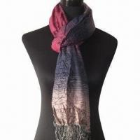 Buy cheap Cashmere-like Scarf, Customized Specifications are Accepted, Measures 67x178cm from wholesalers