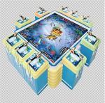 Buy cheap 10 Players Kids Arcade Machine /  Indoor Fishing King 10p Amusement Arcade Game Machine from wholesalers