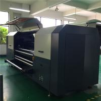 Buy cheap Belt Type Digital Fabric Printing Machine , Reactive Ink  Textile Inkjet Printer from wholesalers
