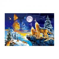 Buy cheap 0.75mm Thickness Plastic Animal 3D Lenticular Pictures For House Decoration from wholesalers