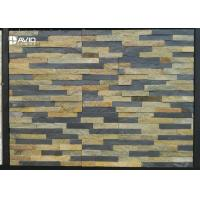 Wholesale Rusty Quartzite Cultured Stone Assorted With Grey Natural Slate Cold Resistance from china suppliers