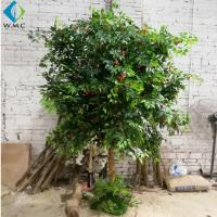 Wholesale 2.5m Height Artificial Fruit Tree , Litchi Fruit Tree For Rainforest Landscaping Decoration from china suppliers