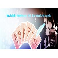 Buy cheap Magic Trick Luminous Ink With A Marker Pen For Making Poker Invisible Marks from wholesalers