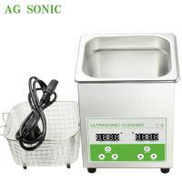 Buy cheap Ultrasonic Cleaner  Sonic Bath 2l Household Use Jewelry Polishing Electronic Jewelry Cleaner from wholesalers