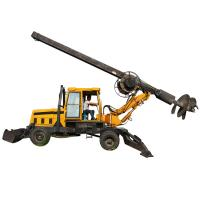 Buy cheap Multi - Function Pile Driving Machine 20m Depth For Soil Layer , Clay Layer from wholesalers