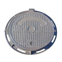 Buy cheap Single Seal A15 Cast Iron 450mm Diameter Solid Top Manhole Cover & Frame Make In China from wholesalers