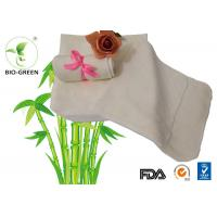 Buy cheap Machine Wash Hygiene Bamboo Baby Wipes Customized Size Founded 25*25cm / 10*10 from wholesalers
